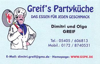 Greif's Partyküche Osnabrück